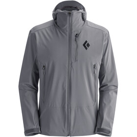 Black Diamond Dawn Patrol Chaqueta Shell Hombre, ash